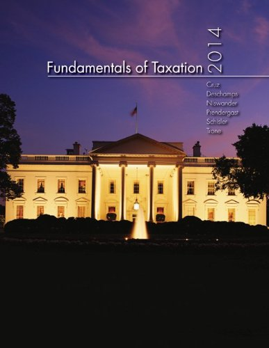 MP Fundamentals of Taxation 2014 Edition with Taxact Software CD-ROM