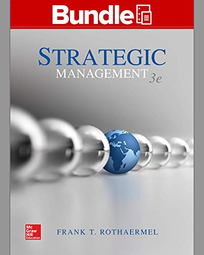 Gen Combo LL Strategic Management: Concepts; Connect Access Card