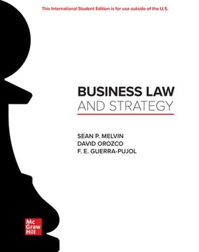 ISE Business Law and Strategy