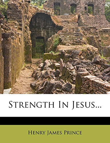 Strength in Jesus...
