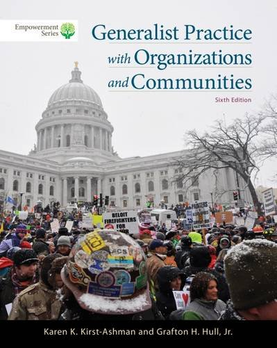 Brooks/Cole Empowerment Series: Generalist Practice with Organizations and Communities (with CourseMate Printed Access Card)