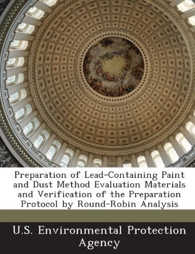 Preparation of Lead-Containing Paint and Dust Method Evaluation Materials and Verification of the Preparation Protocol by Round-Robin Analysis