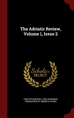 The Adriatic Review, Volume 1, Issue 2
