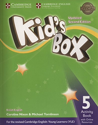 Kid's Box Level 5 Activity Book with Online Resources British English