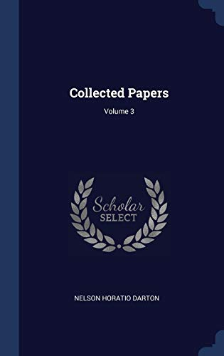 Collected Papers; Volume 3