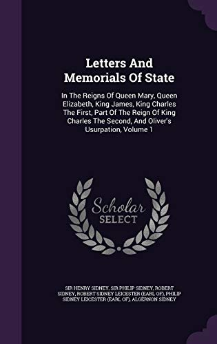 Letters and Memorials of State