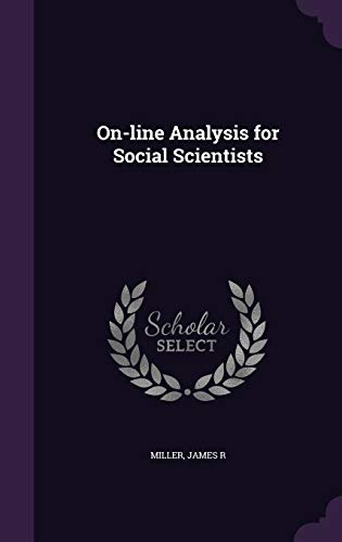 On-Line Analysis for Social Scientists