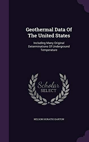 Geothermal Data of the United States