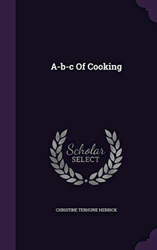 A-B-C of Cooking