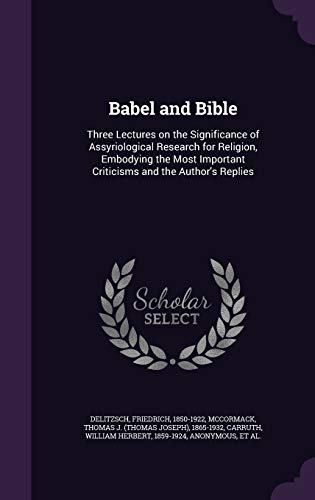 Babel and Bible