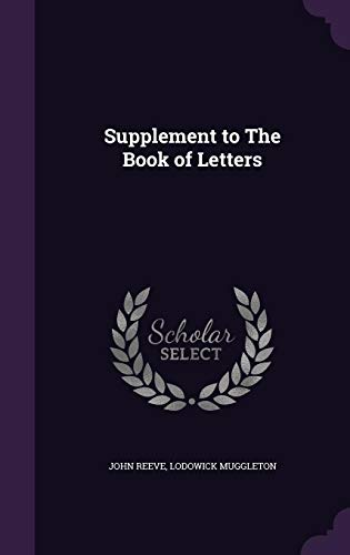 Supplement to the Book of Letters