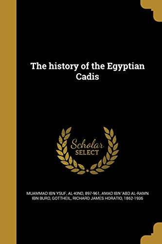 The History of the Egyptian Cadis