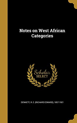Notes on West African Categories