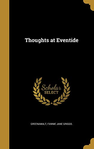 Thoughts at Eventide