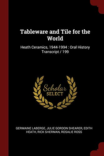 Tableware and Tile for the World