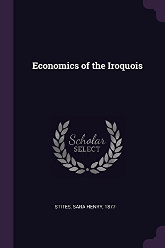 Economics of the Iroquois