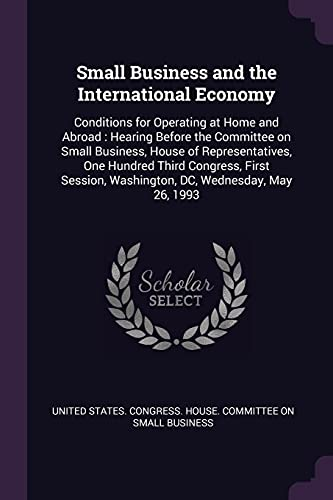 Small Business and the International Economy