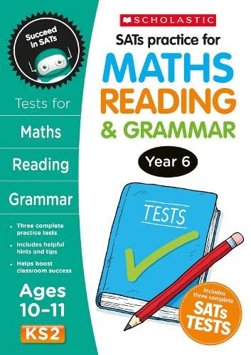SATS Practice for Maths, Reading and Grammar Year 6