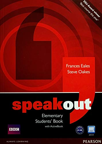 Speakout Elementary Students book and DVD/Active Book Multi Rom pack