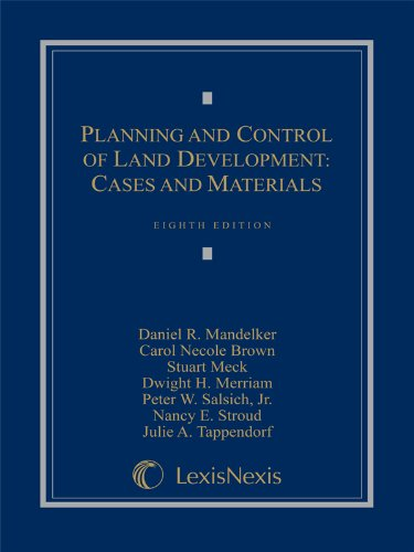 Planning and Control of Land Development