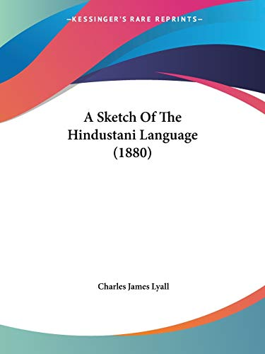 A Sketch of the Hindustani Language (1880)