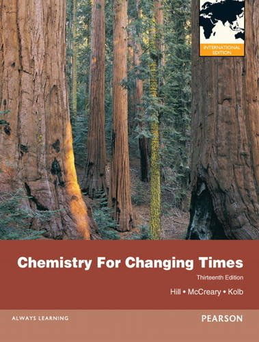 Chemistry For Changing Times, plus MasteringChemistry with Pearson eText