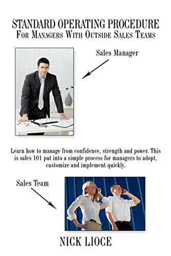 Standard Operating Procedure For Managers With Outside Sales Teams