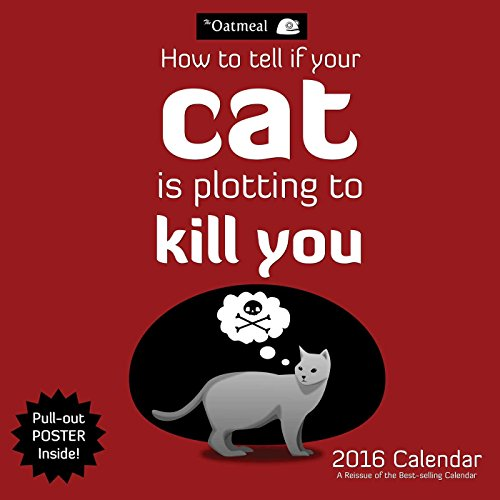 2016 How to Tell If Your Cat is Plotting to Kill You Wall