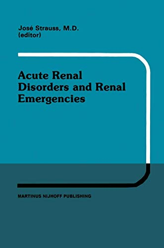 Acute Renal Disorders and Renal Emergencies