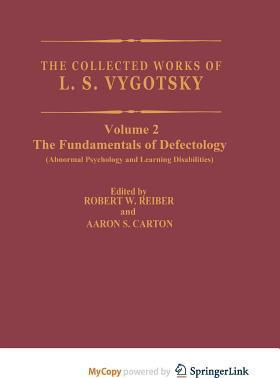 The Collected Works of L.S. Vygotsky