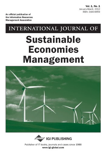 International Journal of Sustainable Economies Management, Vol 1 ISS 1