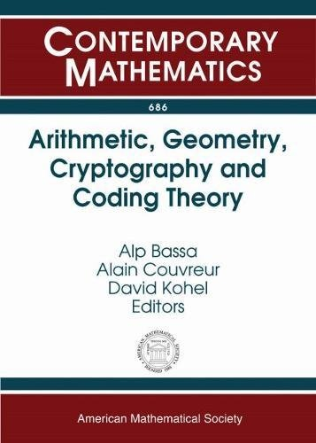Arithmetic, Geometry, Cryptography and Coding Theory