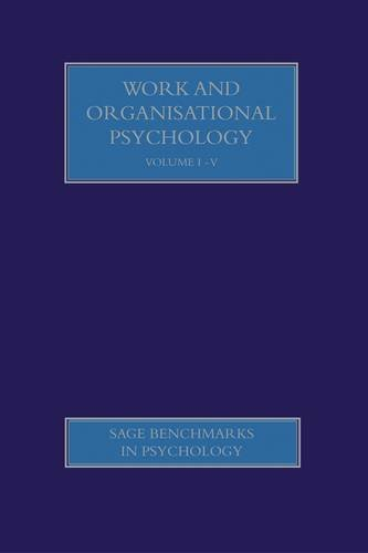 Work and Organisational Psychology