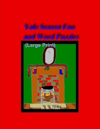 Yule Season Fun and Word Puzzles (Large Print)