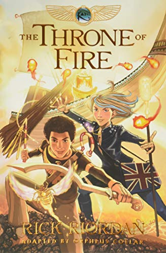Kane Chronicles, The, Book Two the Throne of Fire: The Graphic Novel (the Kane Chronicles, Book Two)