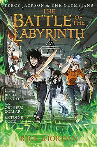 Percy Jackson and the Olympians: The Battle of the Labyrinth