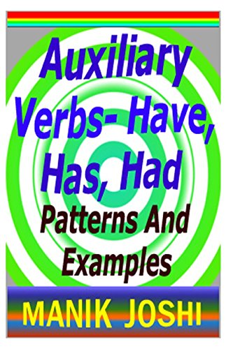 Auxiliary Verbs- Have, Has, Had