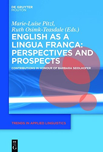 English as a Lingua Franca: Perspectives and Prospects