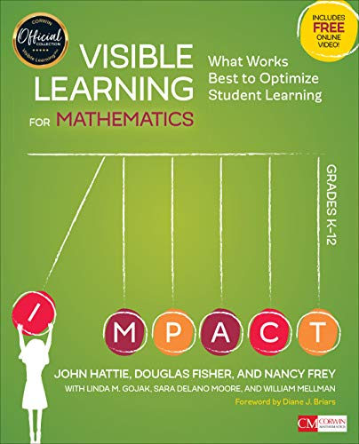 Visible Learning for Mathematics, Grades K-12