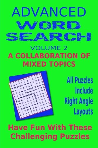 Advanced Word Search Adult Series Volume 2