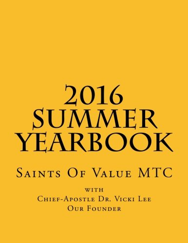 2016 Summer Yearbook
