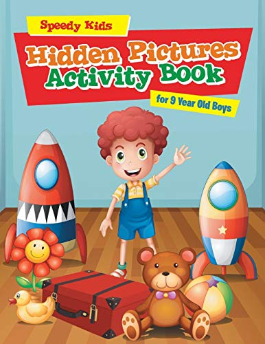 Hidden Pictures Activity Book for 9 Year Old Boys
