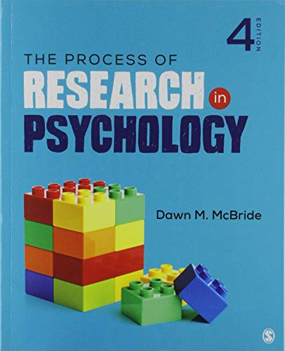 Bundle: McBride: The Process of Research in Psychology, 4e (Paperback) + McBride: Lab Manual for Psychological Research 4e (Paperback) + Schwartz: An Easyguide to APA Style (Spiral)