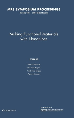 Making Functional Materials with Nanotubes: Volume 706