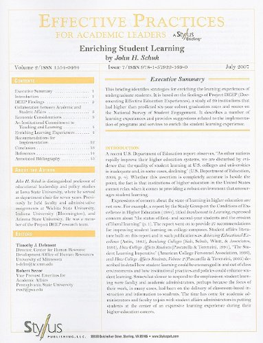 Enriching Student Learning