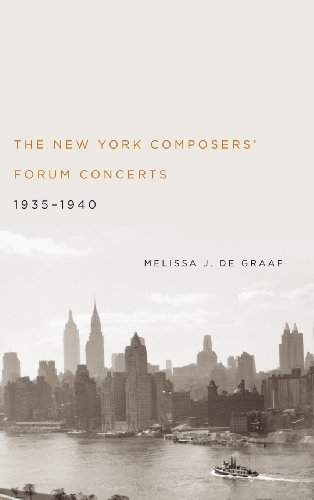 The New York Composers' Forum Concerts, 1935-1940