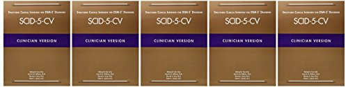 Structured Clinical Interview for DSM-5 (R) Disorders -- Clinician Version (SCID-5-CV)
