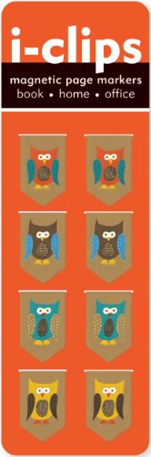 iClip Magnetic Bookmark Owls