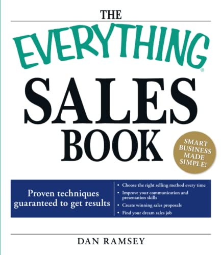 "The ""Everything"" Sales Book"