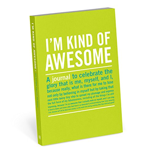 Knock Knock I`m Kind of Awesome Mini Inner Truth Journal
